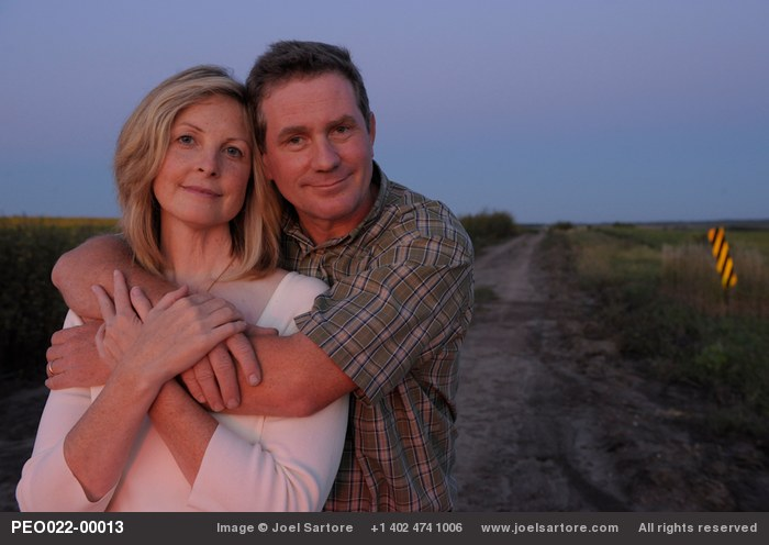 Joel and Kathy Sartore on the outskirts of Lincoln. Photo by Cole Sartore.